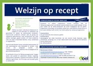 Welzijn op recept (factsheet)
